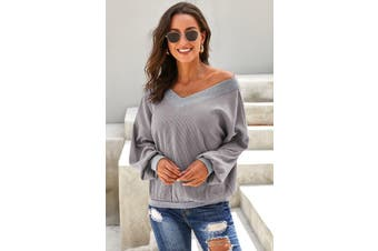 Azura Exchange Gray Our Country Roads Thermal Top