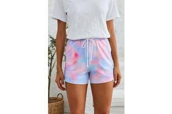 Azura Exchange Multicolor Tie Dye Casual Shorts
