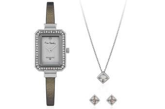 Pierre Cardin Watch PCDX7925L4 Women Silver