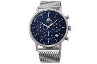 Orient Watch RA-KV0401L10B Men Silver