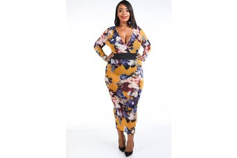 Azura Exchange Mesh Maxi Dress