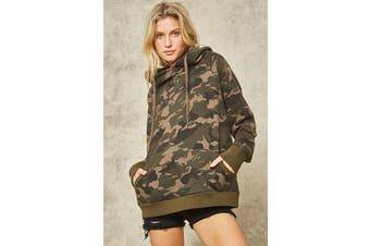Azura Exchange A Camouflage Hoodie