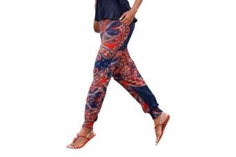 Azura Exchange Colorful Bohemian Ethnic Print Straight Legs Jogger Pants