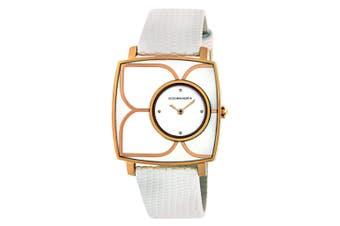 BCBGMAXAZRIA BG6402 Icon Voyage Flower Design Dial Watch