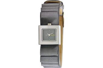 BCBGMAXAZRIA BG6344 with Grey Satin Leather Strap Watch