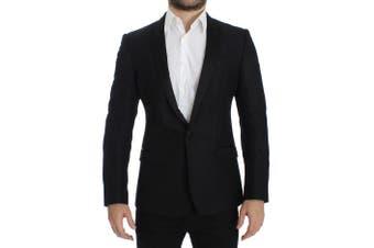 Dolce & Gabbana Black wool MARTINI slim blazer