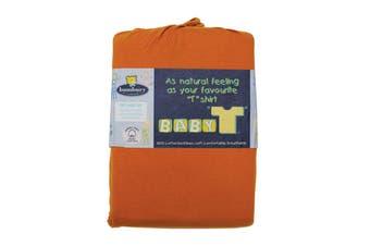 Bambury Baby T Sheet Set - Orange - Bassinet