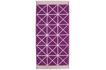 Bambury Como Range - 100% Cotton - Hand Towel - 36 x 70cm - Berry