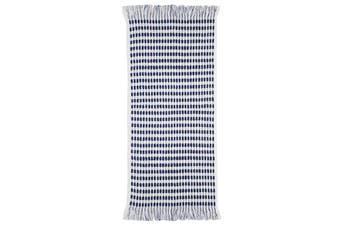 Bambury Corsica Range - 100% Cotton - Hand Towel - 70 x 36cm - White & Navy
