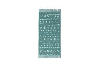 Bambury Nomad Range - 100% Cotton - Hand Towel - 36 x 70cm - Kingfisher