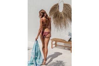 Bambury Egyptian Cotton Beach Towel - Jacquard - 95 x 175cm - Mili