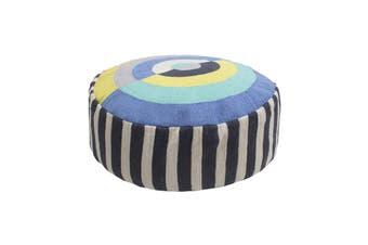 Bambury Spectrum Floor Cushion or Ottoman - 55 x 18cm - Filled - Fiesta