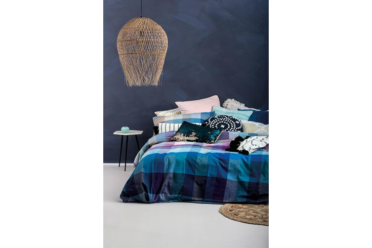 Bambury Atticus Quilt Cover Set - Yarn Dyed 100% Cotton - King