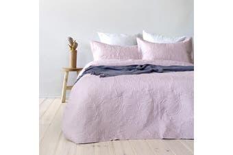 Bambury Paisley Coverlet Set - Bedspread - Embossed - Dusk - Queen/King