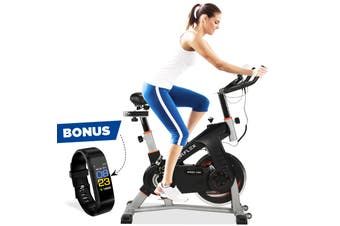 NORFLEX Spin Bike Flywheel Commercial Gym Exercise Home Workout Bike Fitness SLV