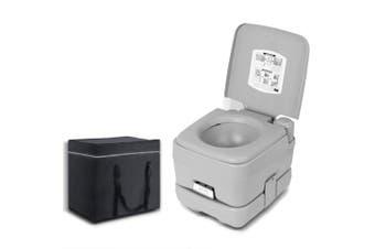 10L Outdoor Portable Camping Toilet Bonus Carry Bag