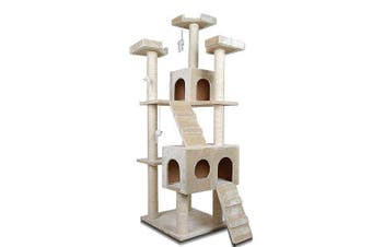 170cm Cat Tree Scratching Post Scratcher Pole Gym Toy House Furniture Multilevel