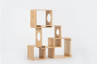 Pidan Geometrical Cat Tree Medium