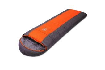 Outdoor Camping Envelope Sleeping Bag Thermal Tent Hiking Winter Single -15??C Or
