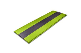 Self Inflating Mattress Sleeping Pad Mat Air Bed Camping Camp Hiking Joinable - green