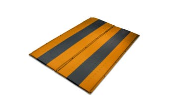 Double Self Inflating Mattress Sleeping Mat Air Bed Camping Hiking Joinable Orange