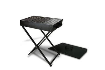 Large Ourdoor Portable Foldable Folding Charcoal BBQ Grill Camping Picnic W/ Lid