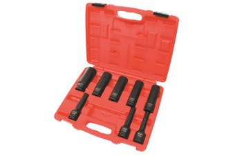 Toledo Wheel Hub Nut Tool 8 pc Set 3/4 Dr