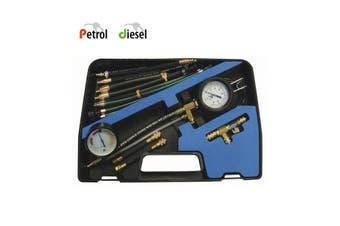 Combined Fuel Injection Pressure Test Kit - Petrol & Diesel