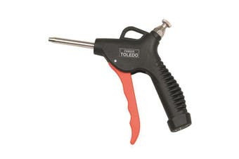 Toledo Air Blow Gun - Adjustable Air Flow 60mm Nozzle