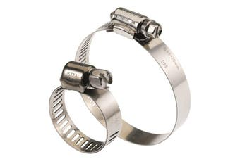 316 Series Full Stainless Steel Hose Clamp Pack 78mm - 102mm 10 Pieces