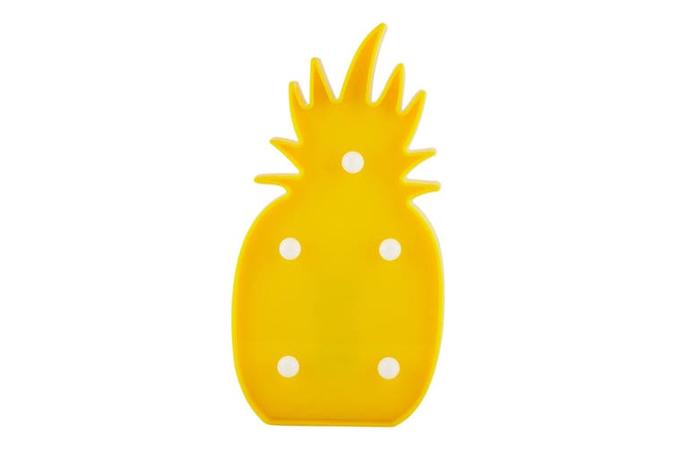Milano Night Lights Novelty LED Lamp Friday Weekend House Party Decor Bedside - Pineapple