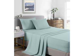 Royal Comfort 2000 Thread Count Bamboo Cooling Sheet Set Ultra Soft Bedding - Double - Frost