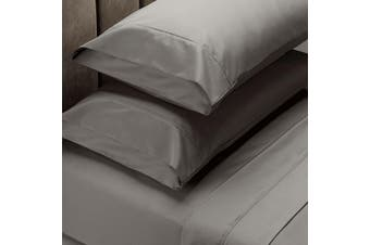 Royal Comfort 1000 Thread Count Sheet Set Cotton Blend Ultra Soft Touch Bedding - Queen - Charcoal