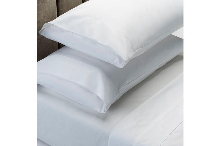 Royal Comfort 1000 Thread Count Sheet Set Cotton Blend Ultra Soft Touch Bedding - King - White
