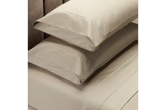 Royal Comfort 1000 Thread Count Sheet Set Cotton Blend Ultra Soft Touch Bedding - King - Pebble
