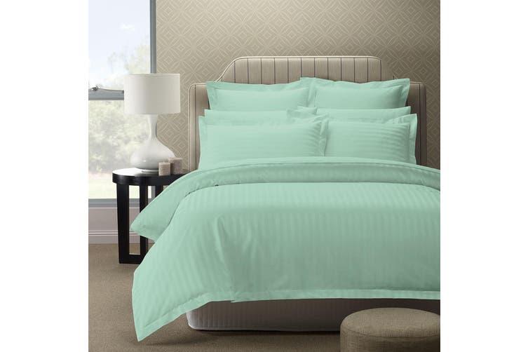 Royal Comfort 1200TC Luxury Sateen Damask Stripe Cotton Blend Quilt Cover Set