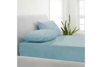 Park Avenue 1000TC Cotton Blend Sheet & Pillowcases Set Hotel Quality Bedding - Single - Mist