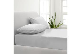 Park Avenue 1000TC Cotton Blend Sheet & Pillowcases Set Hotel Quality Bedding - Double - White