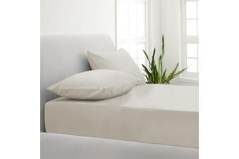 Park Avenue 1000TC Cotton Blend Sheet & Pillowcases Set Hotel Quality Bedding - Double - Pebble