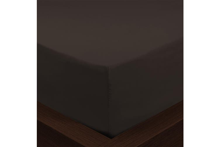Park Avenue 1000TC Cotton Blend Sheet & Pillowcases Set Hotel Quality Bedding - Queen - Charcoal