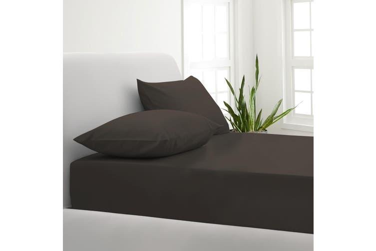 Park Avenue 1000TC Cotton Blend Sheet & Pillowcases Set Hotel Quality Bedding - King - Charcoal