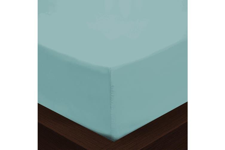 Park Avenue 1000TC Cotton Blend Sheet & Pillowcases Set Hotel Quality Bedding - Mega Queen - Mist