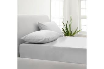 Park Avenue 1000TC Cotton Blend Sheet & Pillowcases Set Hotel Quality Bedding - Mega King - White