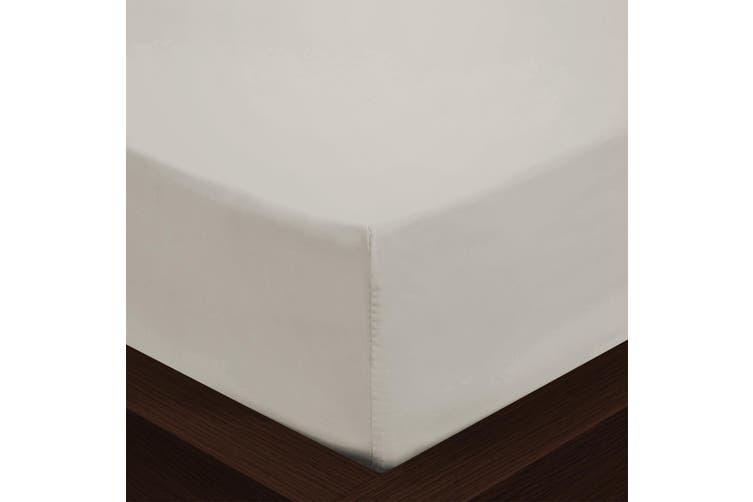 Park Avenue 1000TC Cotton Blend Sheet & Pillowcases Set Hotel Quality Bedding - Mega King - Pebble