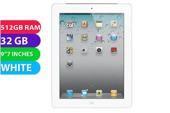 Used as Demo Apple iPad 2 Wifi (32GB, White) - Used as Demo