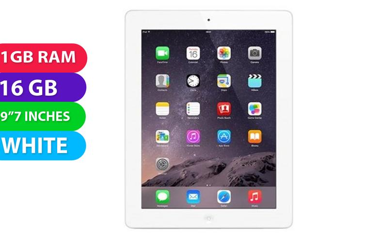 Apple iPad 4 16GB Wifi White - Used as Demo