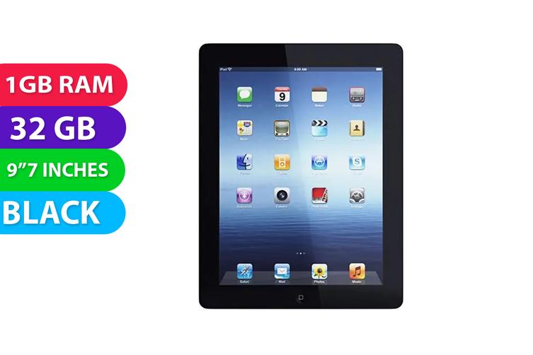 Apple iPad 4 32GB Wifi Black - Used as Demo