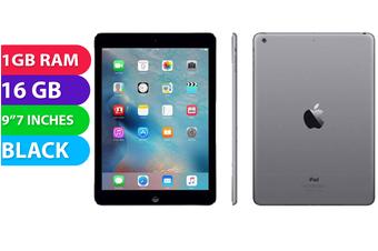Apple iPad AIR 1 Wifi (16GB, Black) - Used as Demo