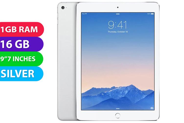 Apple iPad AIR 1 Wifi (16GB, Silver) - Used as Demo