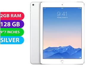 Apple iPad AIR 2 Wifi + Cellular (128GB, Silver) - Used as Demo